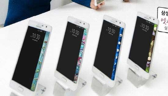 Металл и стекло в корпусе Galaxy S6