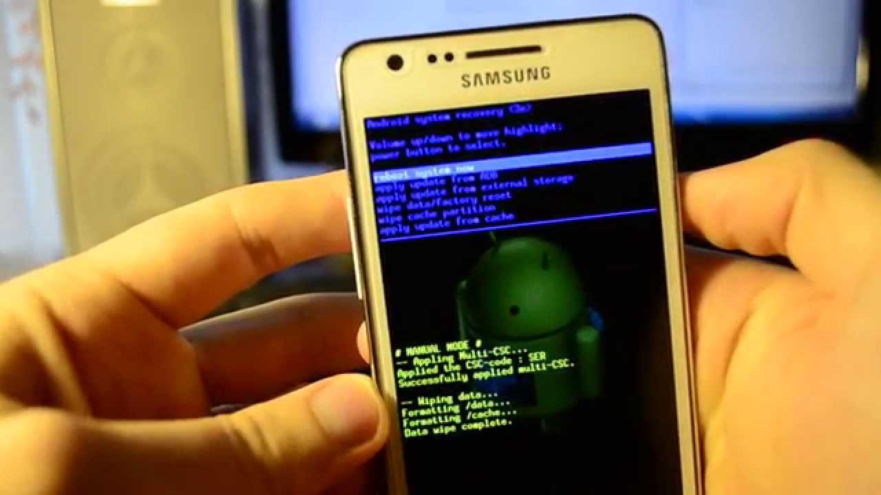 Hard Reset Samsung S6