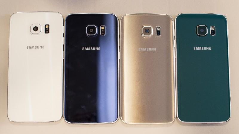 Какого цвета выбрать Samsung Galaxy S6?