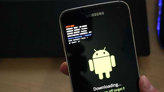 Режим прошивки Galaxy S6