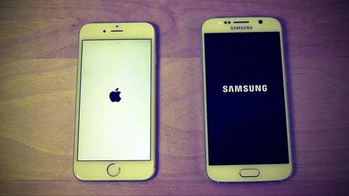 iOS у iPhone и Android у Galaxy