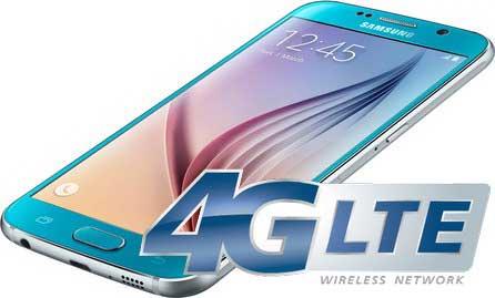 Не работает 4G на Samsung Galaxy S6