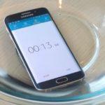 Galaxy S6 в воде