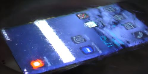 Galaxy S7 в морозе