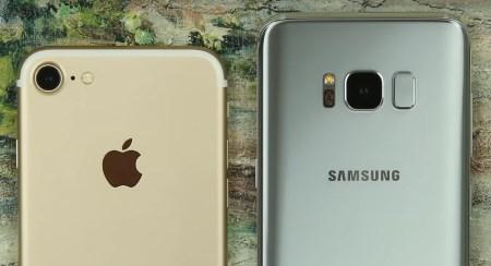 Что лучше - Galaxy S8 или iPhone 7?
