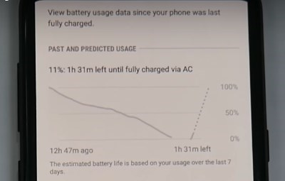 Как долго хватает зарядки в Galaxy S8