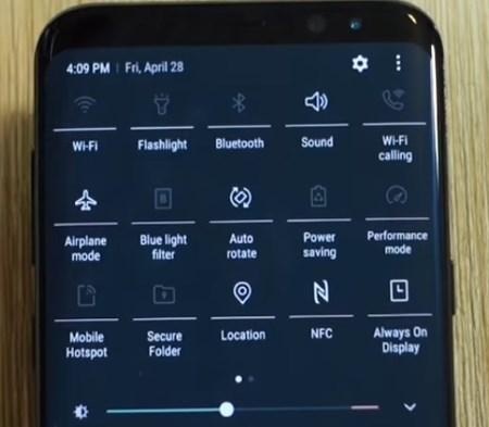 Отключаем беспроводные сети - S8 будет разряжаться медленней