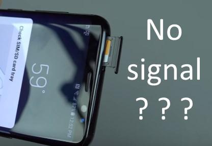 Samsung S8 не обнаруживает сим-карту