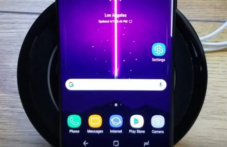 Galaxy S8 стоит на зарядке, но не заряжается
