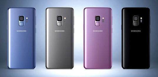 Galaxy S9 презентован в 4-х цветах корпуса