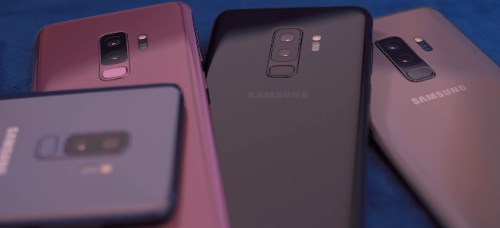 Все цвета корпуса Samsung Galaxy S9