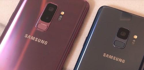 Камера - главное отличие Galaxy S9 от S9 Plus