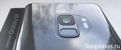 Сканер отпечатка Galaxy S9