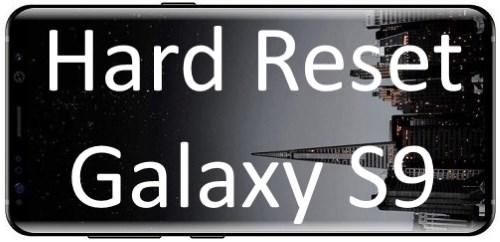 Полный сброс настроек или Hard Reset Galaxy S9