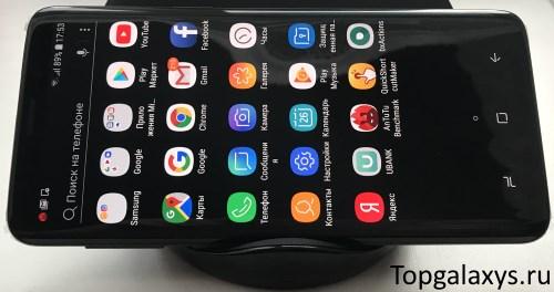 Не работает беспроводная зарядка Galaxy S9