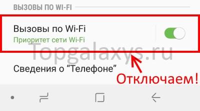 """Отключаем """"Вызовы по Wi-Fi"""" в Galaxy S9"""