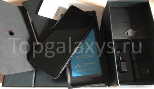 Полный комплект Galaxy S9 - пригодится для гарантийного ремонта