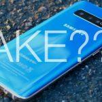Как отличить настоящий Galaxy S10 от подделки