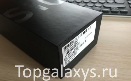 Коробка Samsung Galaxy S10