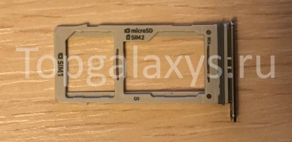 Комбинированный лоток SIM-карты для Samsung Galaxy