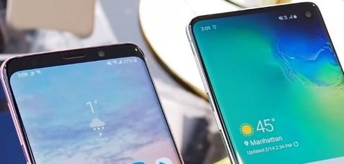 Чем Galaxy S9 отличается от Galaxy S10