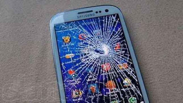 Что делать если разбился телефон htc
